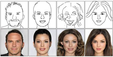 Esta IA solo necesita un garabato de una cara para crear un retrato fotorrealista