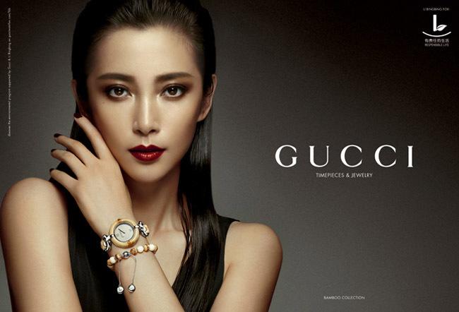 Gucci y Li Bingbing