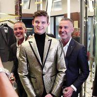 Tres infalibles tips de estilo para llevar un traje, por Dan y Dean Caten de Dsquared2