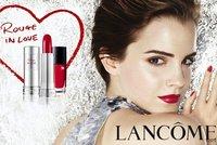 Emma Watson es pura pasión con Lancôme