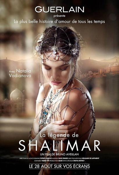 Natalia Vodianova para la leyenda de Guerlain Shalimar