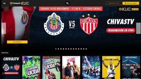 Chivas Tv Cinepolis