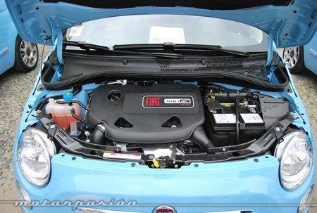 Vano motor del Fiat 500