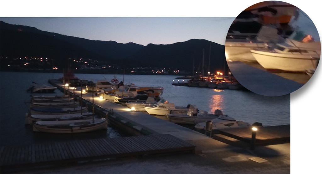 Alcatel 3v Foto Nocturna