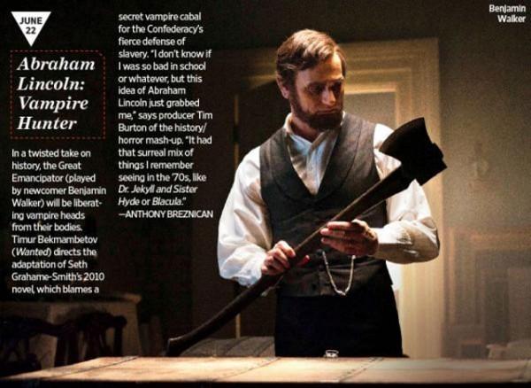 Foto de Primeras imágenes de 'Abraham Lincoln: Vampire Hunter' (1/4)