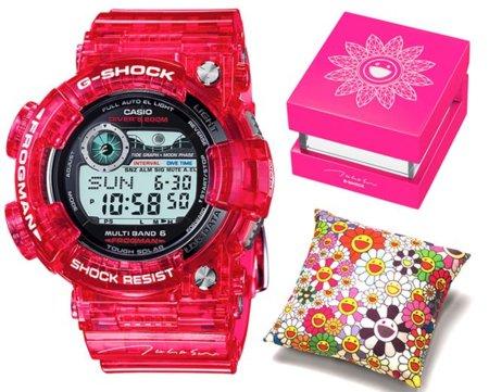 Reloj Casio G-Shock diseñado por Takashi Murakami