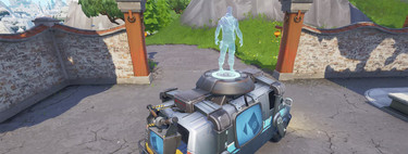 Las furgonetas de respawn de Fortnite no se esconden y ya aparecen hasta en el Twitch de Epic Games
