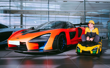 Mclaren Senna 'Ride On', el Ultimate Series en versión de juguete