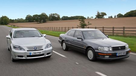 Lexus LS 600h y LS 400
