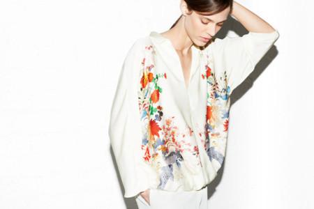 Zara lookbook abril 2013