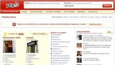 Yelp aterriza oficialmente en España
