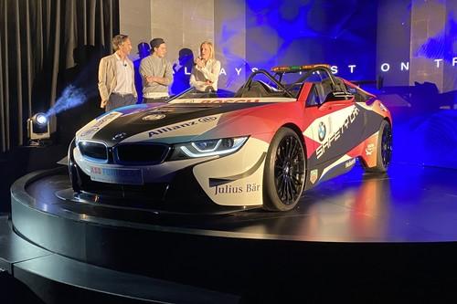 BMW junto a su i8 Roadster como Safety Car, anuncian su extensión de colaboración con la Fórmula E