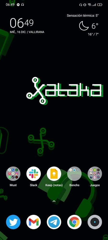 Galería de capturas de pantalla