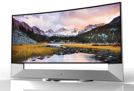 LG 105UB9: El primer TV curvo de 105 pulgadas estará listo para el CES 2014
