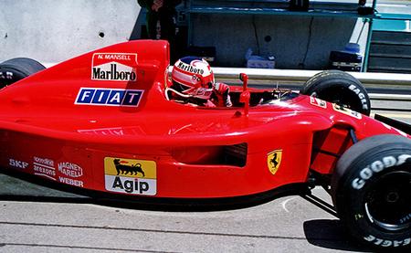 Nigel Mansell 1990