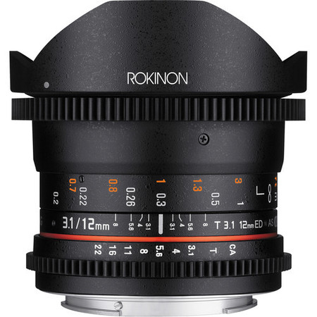Rokinon 12mm T3 1 Ed As If Ncs Umc Cine Ds Fisheye Lens 2