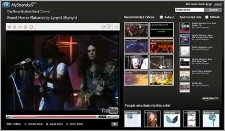 Mystrands.tv lanzado