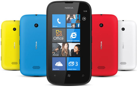 Lumia 510, disponible en 5 colores