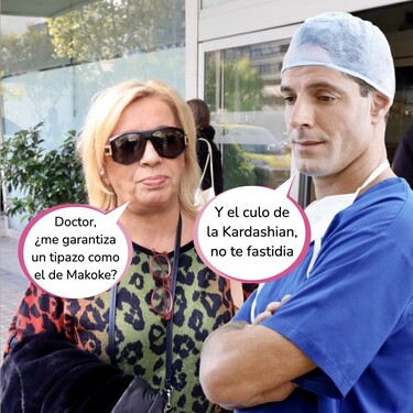 Repasamos todas las operaciones estéticas de Carmen Borrego: 40.000 euros en cirugía para arreglarse la cara