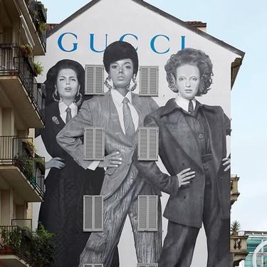 Los nuevos Art Walls de Gucci de la colección otoño-invierno 2019/2020 se convierten en los graffitis con más estilo del mundo