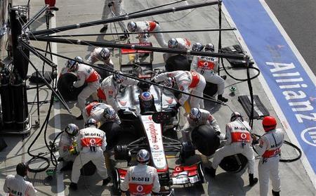 McLaren no encuentra la causa del abandono de Jenson Button en Monza