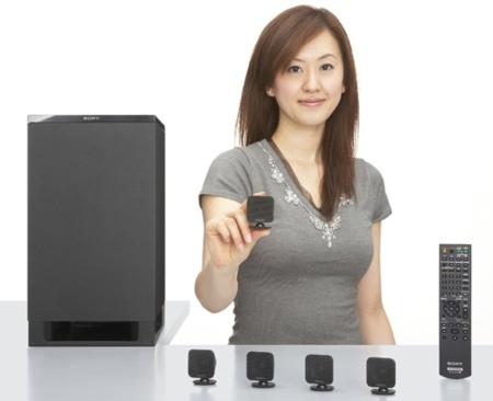 Sony HT-IS100, sistema 5.1 con pequeños altavoces