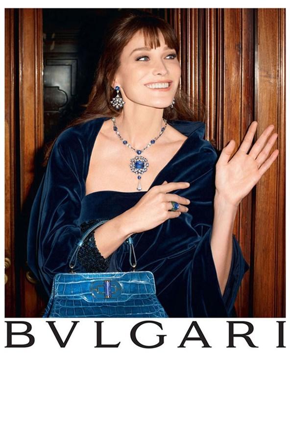 Foto de Carla Bruni para Bulgari (1/25)