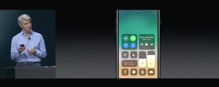 Centro de control iOS 11