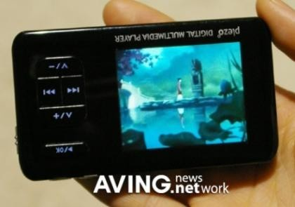 Plezo PM-220, con pantalla rotatoria