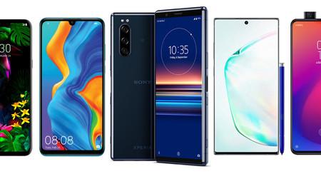 Sony Xperia 5, comparativa: así queda contra Xiaomi Mi 9T Pro, Huawei P30, LG G8, Galaxy Note 10 y resto de gama alta Android