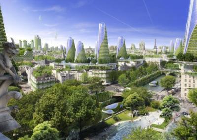 Paris ya tiene listo su gran proyecto para convertirse en 2050 en la ciudad del futuro