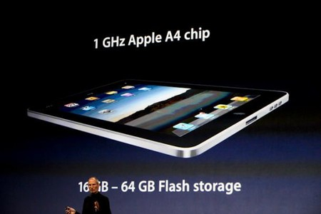 El primer chip de Apple, el A4, dentro del primer iPad