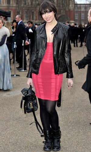 El look de Daisy Lowe en la Semana de la Moda de Londres