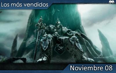 Los juegos más vendidos en España - Noviembre 2008