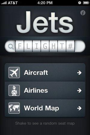 Ventana principal de Jets