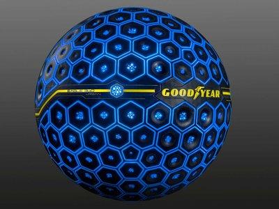 El neumático del futuro según Goodyear: será esférico y podrá sentir, decidir, transformarse e interactuar
