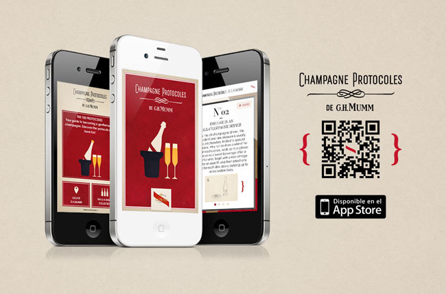 aplicacion iphone GH Mumm