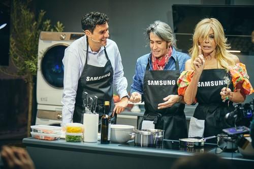 Descubrimos Dual Cook Flex: el horno de Samsung que se transforma en dos (y cambia la forma de cocinar) y su nevera más wow