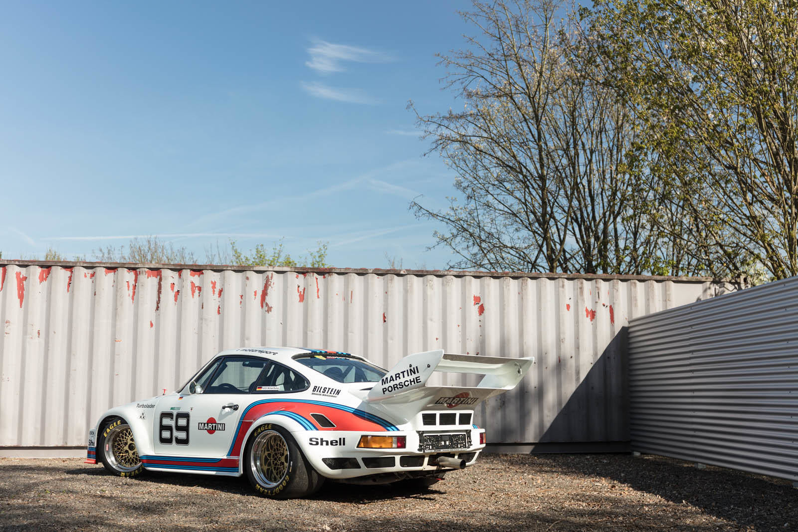 Foto de Porsche 930 clásico a subasta (32/42)