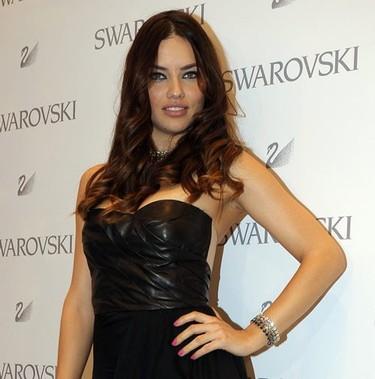 Adriana Lima en la inauguración de la nueva tienda Swarovski en Madrid