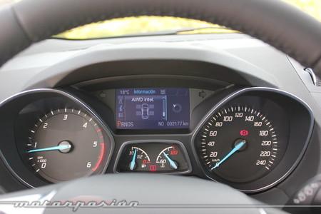 Ford Kuga 2013 off-road, control de AWD
