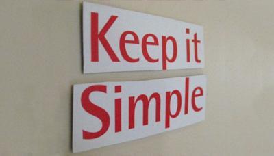 ¿Vale la pena simplificar las aplicaciones a costa de algunas funcionalidades? Desde luego que sí