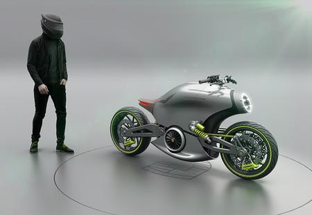 Moto Electrica Porsche 916 4