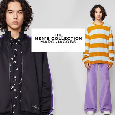 Después de dos años, Marc Jacobs retoma su línea masculina con una colorida propuesta de aires pop