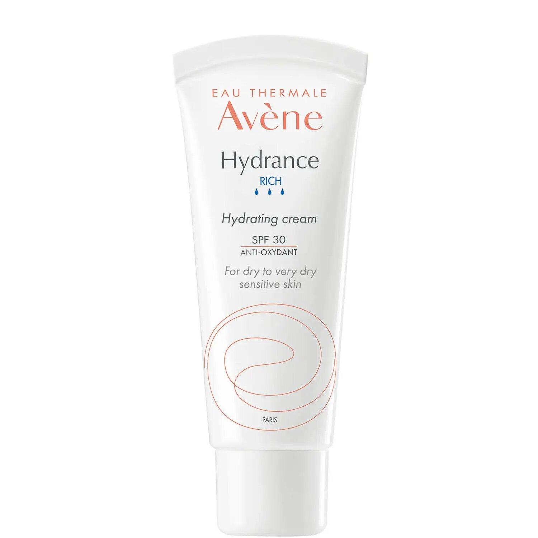 Avène Hydrance Rich-UV Hydrating Cream SPF30 Moisturiser for Dehydrated Skin