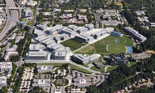 Microsoft prepara su nuevo campus en Redmond, pero será mucho más tradicional que el Apple Park