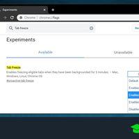 Congelar pestañas en segundo plano en Chrome: cómo activar esta nueva función experimental