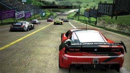 Ridge Racer Vita con sólo 3 circuitos y 5 coches de serie pero con un montón de DLC de pago