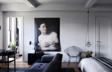 Un apartamento lleno de arte en el corazón de Manhattan