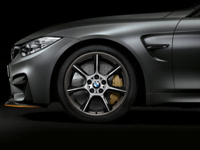 Llantas de fibra de carbono para el BMW M4 GTS o cómo perder 7 kilos en unos minutos